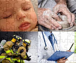 Puzzles de Personnes et Métiers
