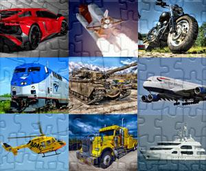 Puzzles de Transport