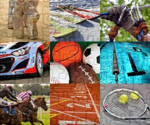 Puzzles de Sport et Aventure