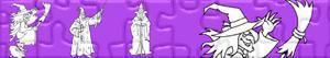 Puzzles de Sorcières et Magicien