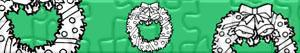 Puzzles de Couronnes e guirlandes de Noël