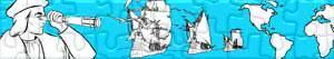 Puzzles de Christophe Colomb - Découverte de l'Amérique