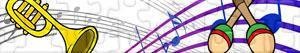 Puzzles de Instruments de musique