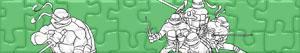 Puzzles de Les Tortues ninja