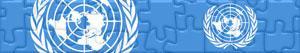 Puzzles de Drapeaux et Logos des Nations Unies - ONU