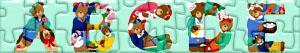 Puzzles de Lettres avec ours